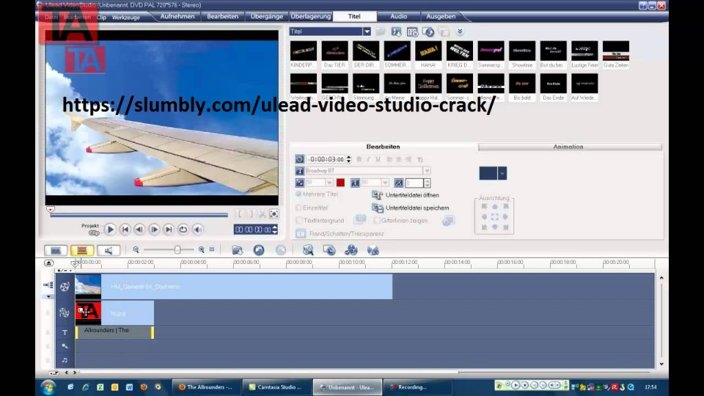 Ulead Video Studio 11 key